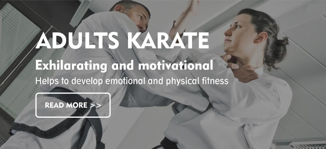 Adult Karate in Hertfordshire